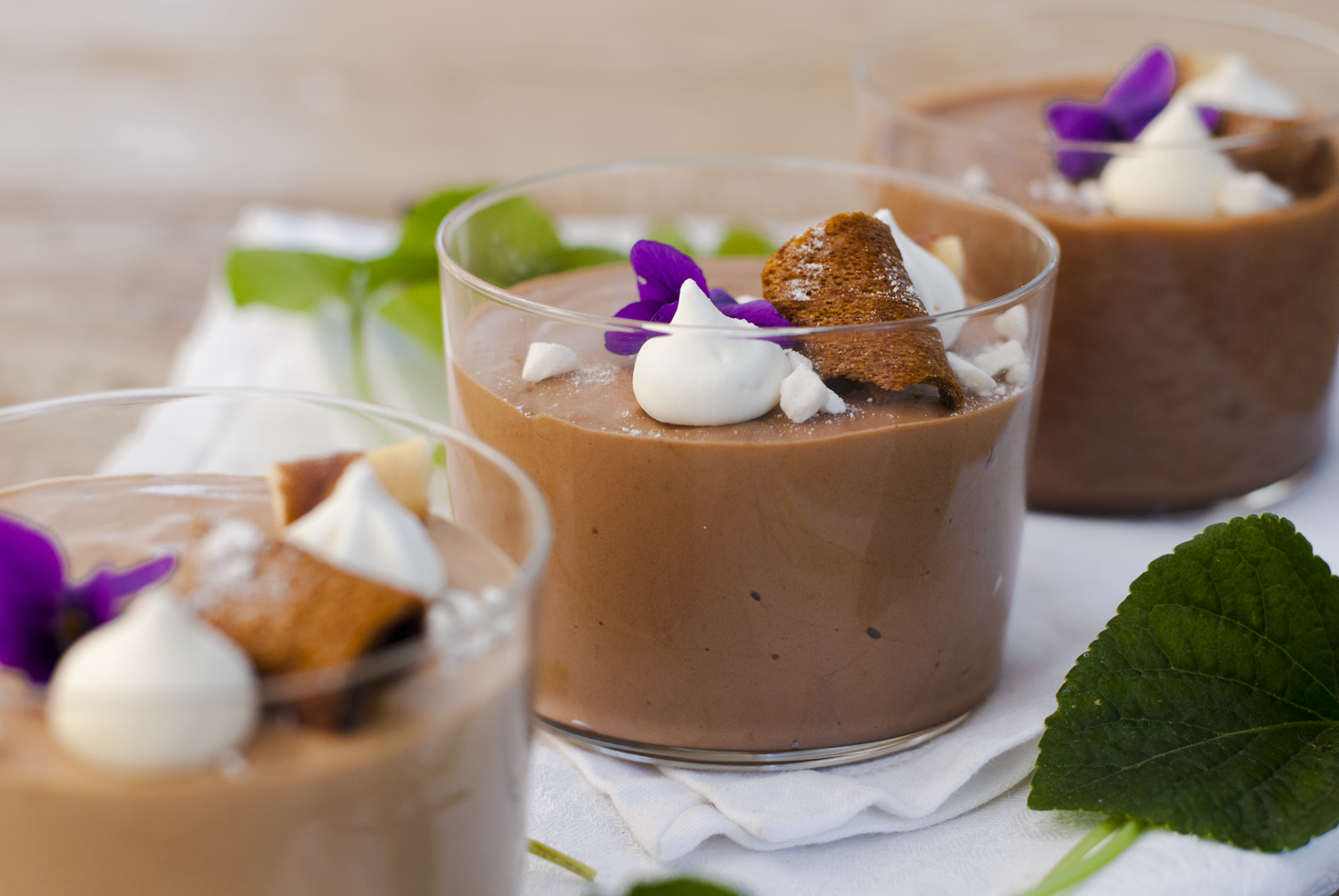 Mousse Al Cioccolato Al Latte In 3 Consistenze